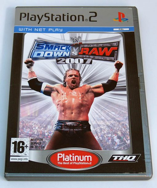 Smackdown vs Raw 2007 PS2