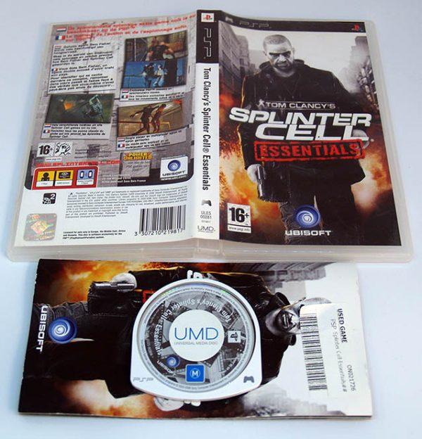 Splinter Cell: Essentials PSP