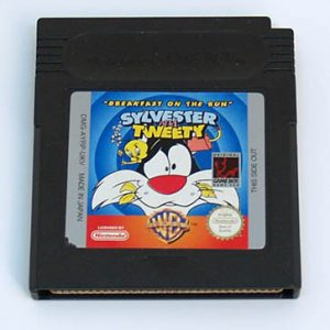 Sylvester and Tweety: Breakfast on the Run CART GAME BOY