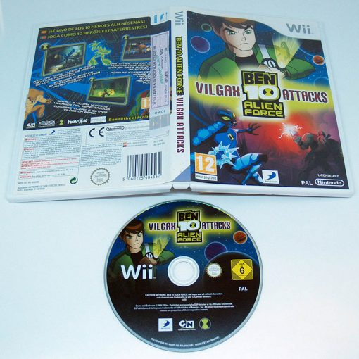 Ben 10 Alien Force: Vilgax Attacks WII