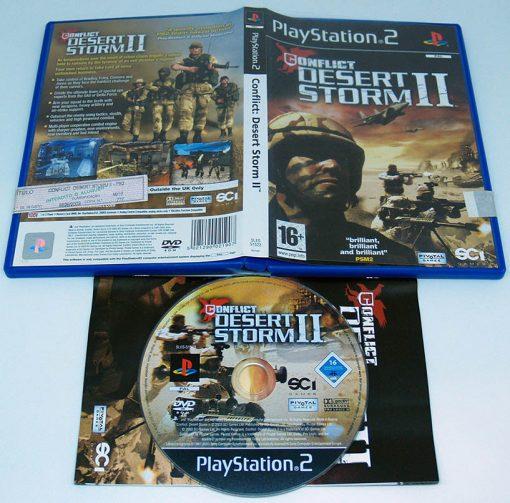 Conflict: Desert Storm II PS2
