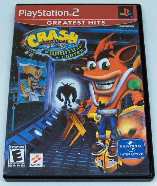Crash Bandicoot: The Wrath of Cortex PS2 NTSC-US