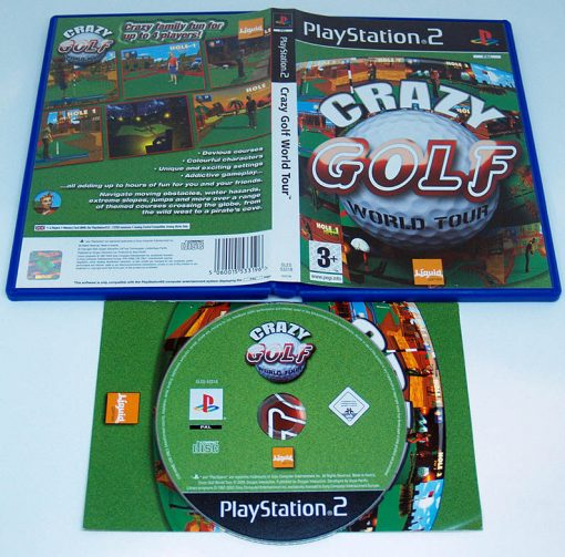 Crazy Golf World Tour PS2