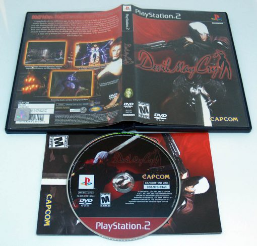Devil May Cry PS2 NTSC-US