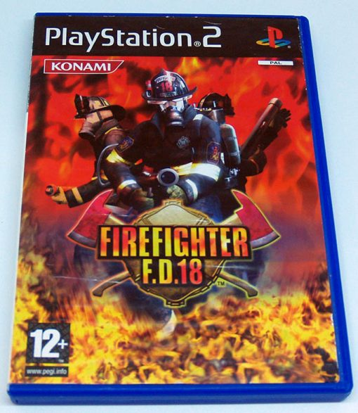 Firefighter F.D.18 PS2