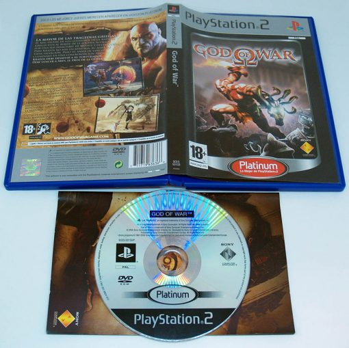 God of War ES PS2