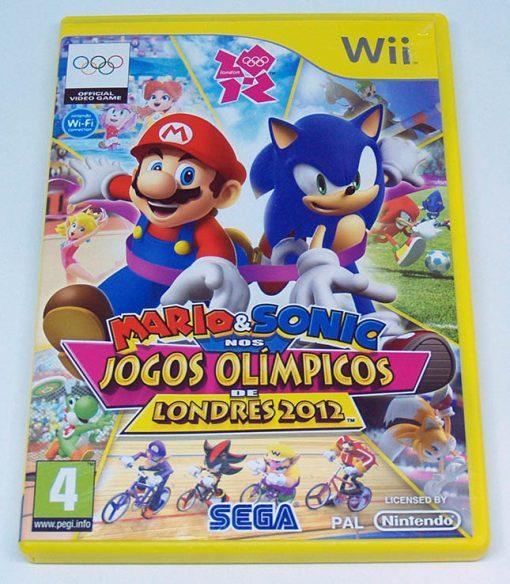 Mario & Sonic nos Jogos Olímpicos de Londres 2012 WII