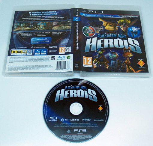 Playstation Move Heróis PS3