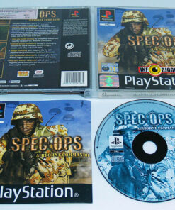 Spec Ops: Airborne Commando PS1