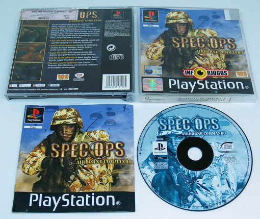Spec Ops: Airborne Commando PS1