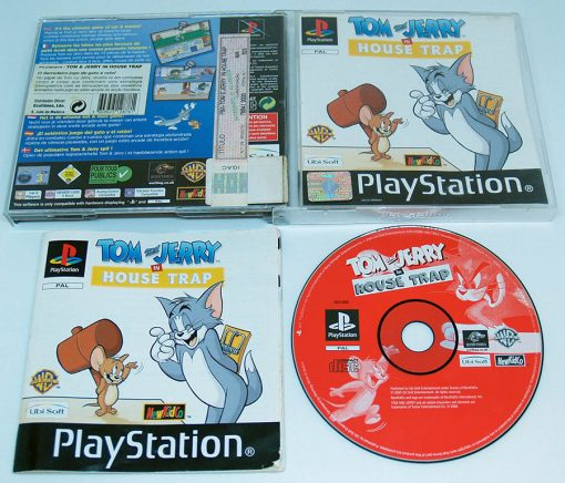 Tom & Jerry in House Trap PS1