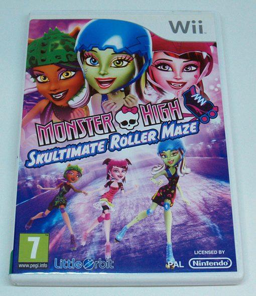 Monster High: Skultimate Roller Maze WII