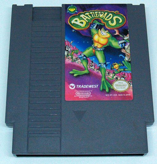 Battletoads CART NES NTSC-US