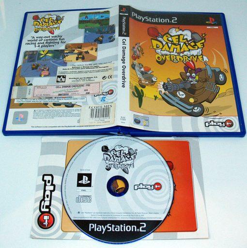 Cel Damage Overdrive PS2