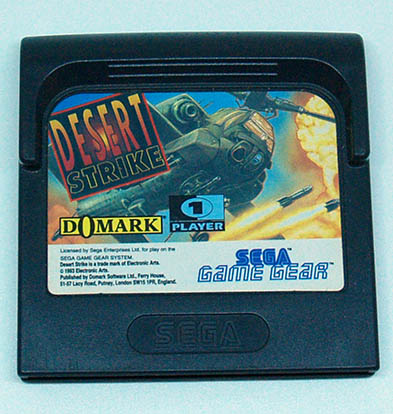 Desert Strike GAME GEAR