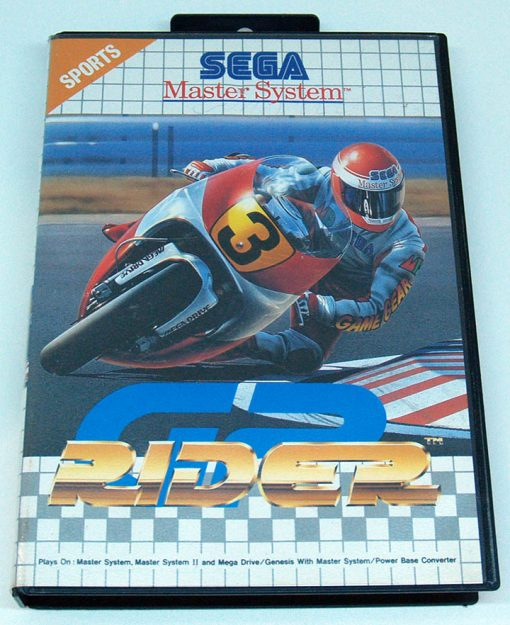 GP Rider MASTER SYSTEM