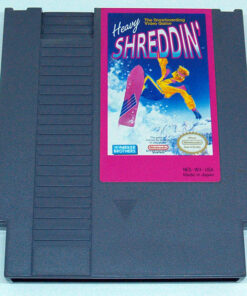 Heavy Shreddin' CART NES NTSC-US