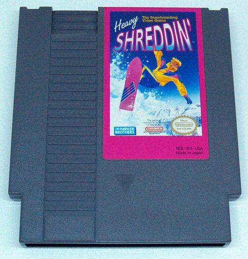 Heavy Shreddin' CART NES NTSC-US