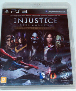 Injustice: Gods Among Us - Ultimate Edition BR PS3