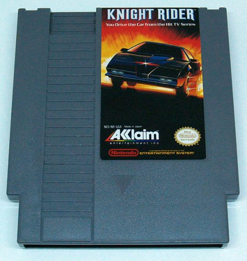 Knight Rider CART NES NTSC-US