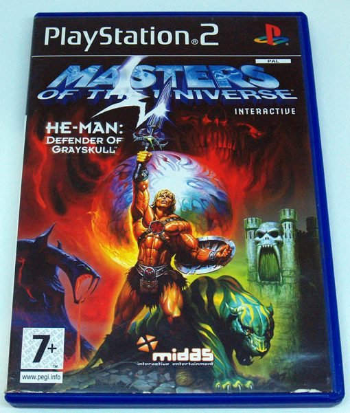 Masters of the Universe He-Man: Defender of Grayskull PS2