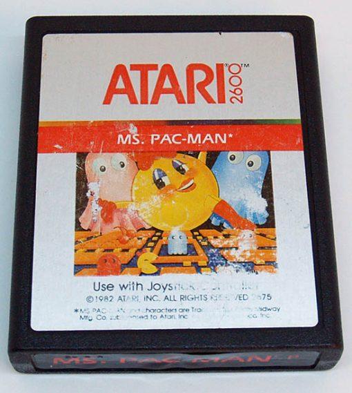 Ms. Pac-Man CART ATARI 2600