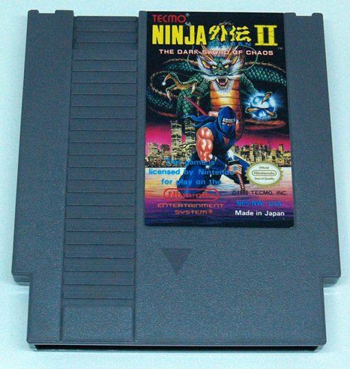 Ninja Gaiden II: The Dark Sword of Chaos CART NES NTSC-US