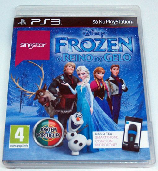 SingStar Frozen: O Reino do Gelo PS3