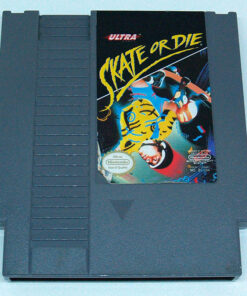 Skate or Die CART NES NTSC-US
