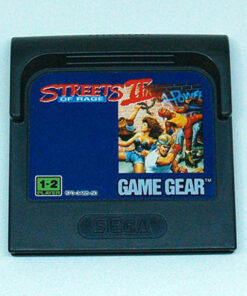 Streets of Rage II CART GAME GEAR
