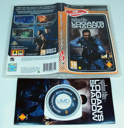 Syphon Filter: Logan's Shadow PSP