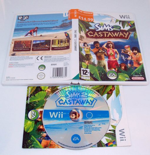 The Sims 2: Castaway WII