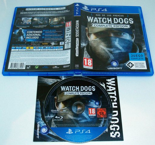 Watch Dogs - Complete Edition PS4