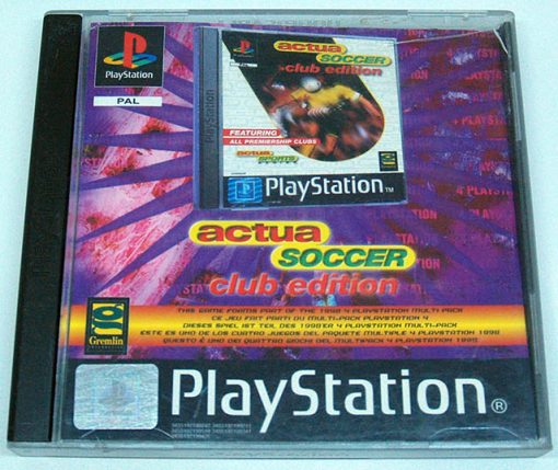 Actua Soccer - Club Edition PS1