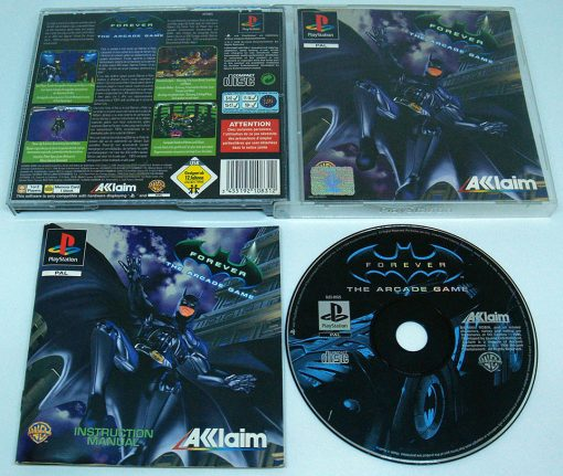Batman Forever: The Arcade Game PS1