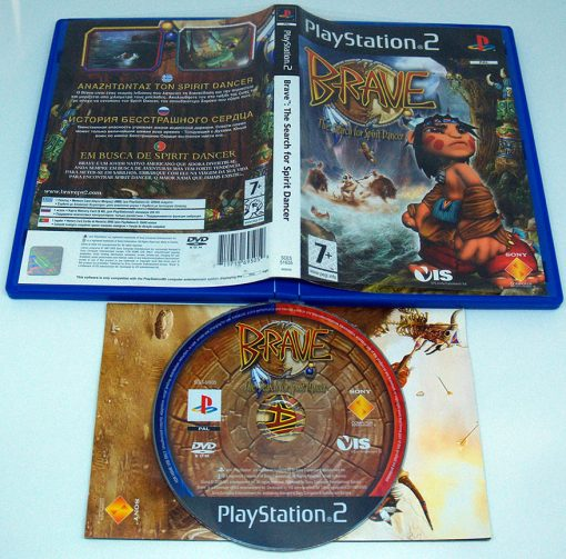 Brave: The Search for Spirit Dancer PS2