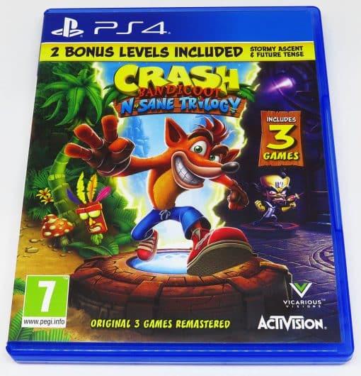 Crash Bandicoot: N. Sane Trilogy PS4