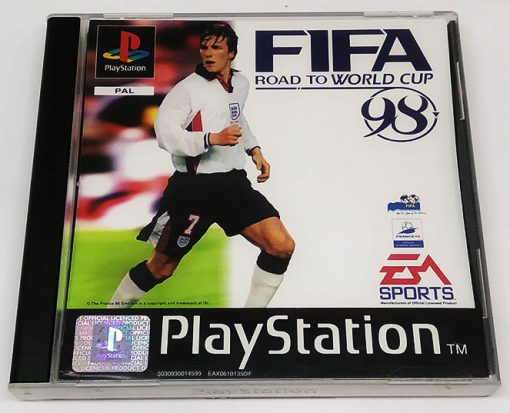 Fifa Road to the World Cup 98 PS1