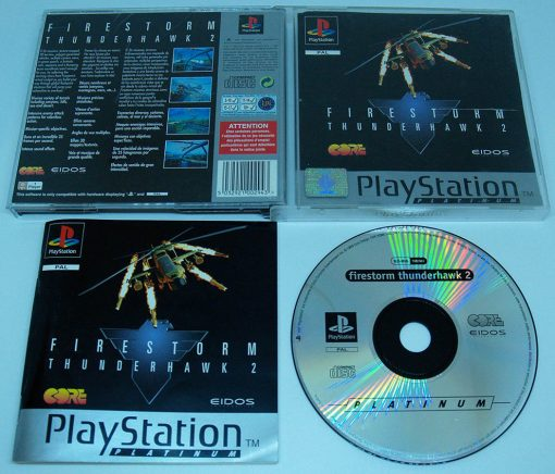 Firestorm Thunderhawk 2 PS1