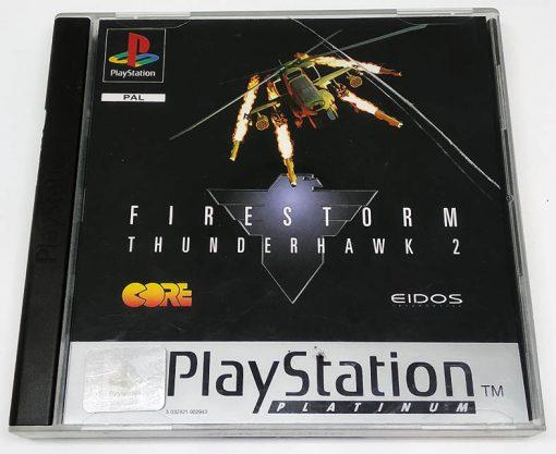 Firestorm Thunderhawk 2 PS1