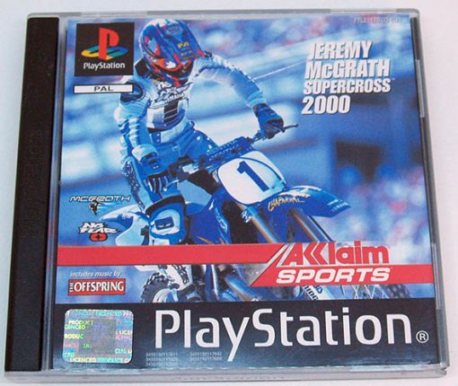 Jeremy McGrath Supercross 2000 PS1