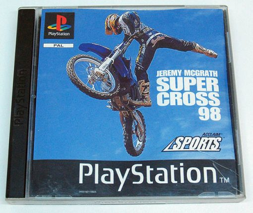 Jeremy McGrath Supercross 98 PS1