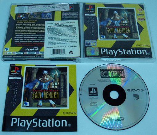 Legacy of Kain: Soul Reaver PS1