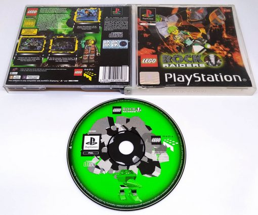 Lego Rock Raiders PS1