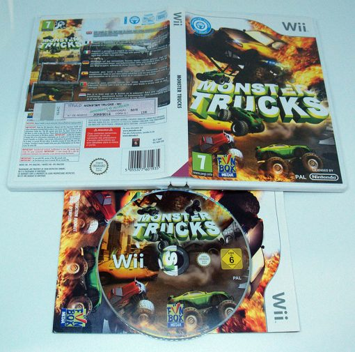 Monster Trucks WII