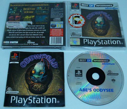 Oddworld: Abe's Oddysee PS1