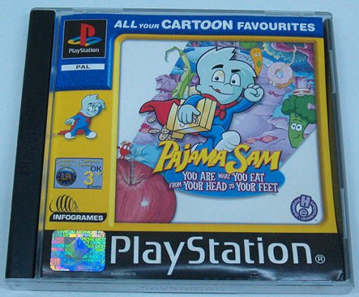 Pajama Sam PS1