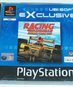 Racing Simulation: Monaco Grand Prix PS1