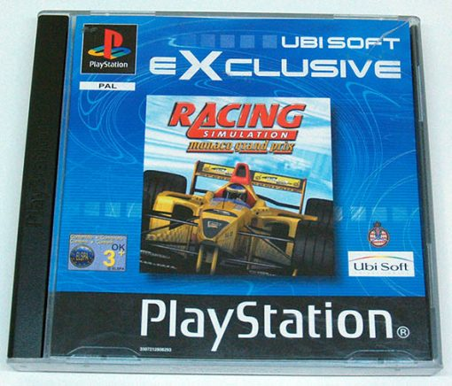 Racing Simulation: Monaco Grand Prix PS1