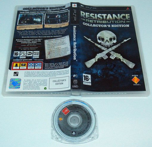 Resistance: Retribution - Collector's Edition PSP